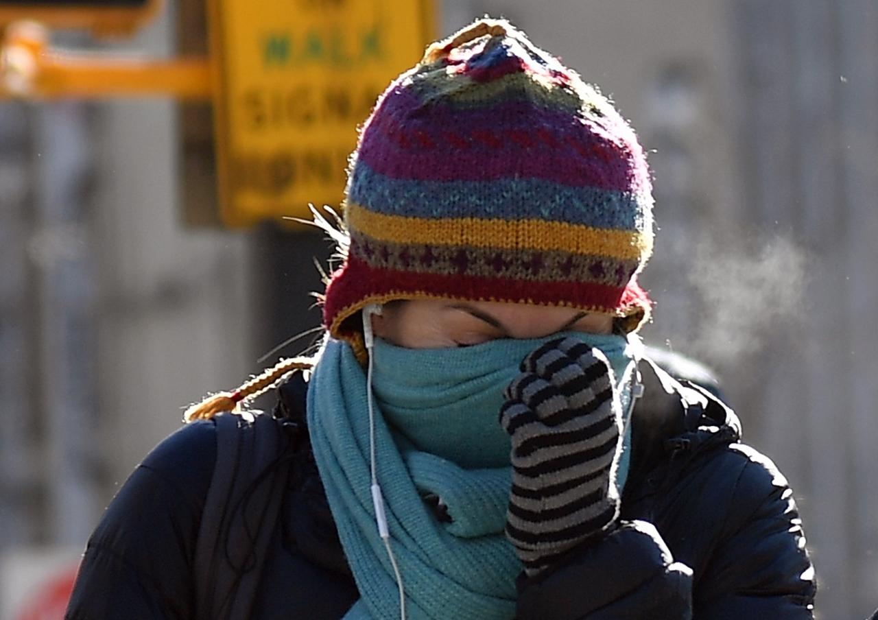 Chunks of polar vortex to arrive finally next week in the East