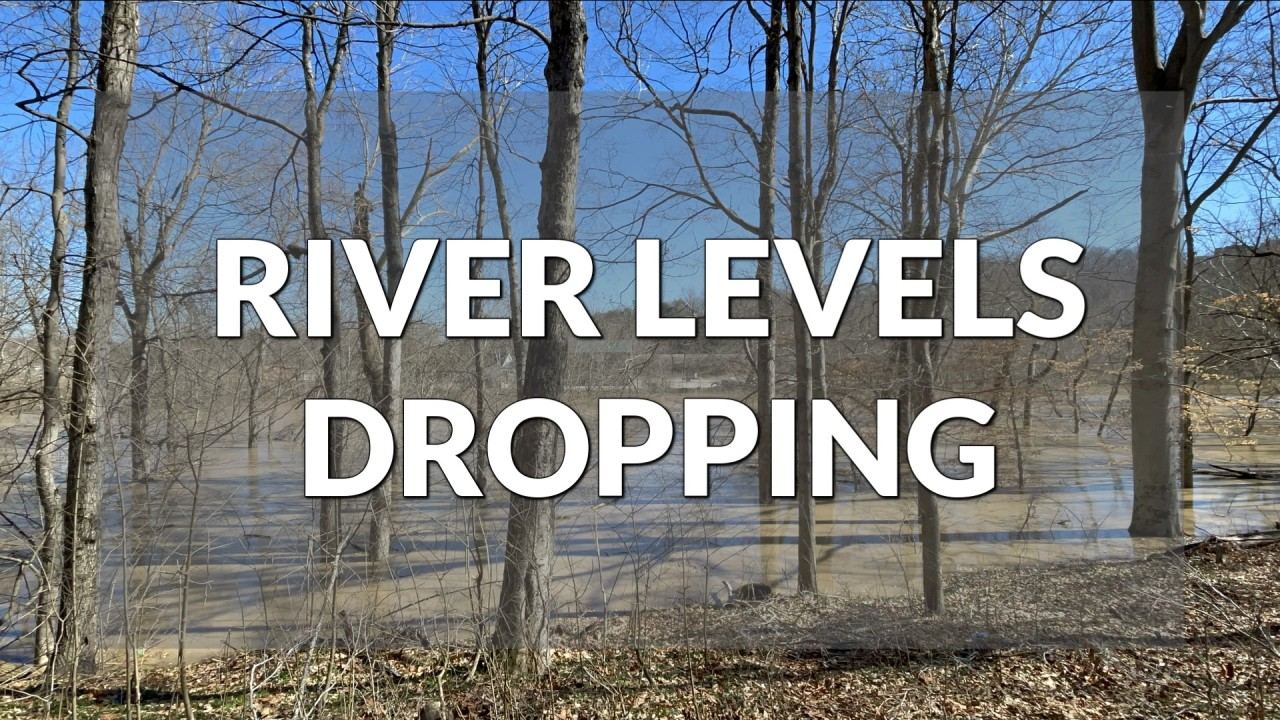 Ohio River levels set to drop below flood stage
