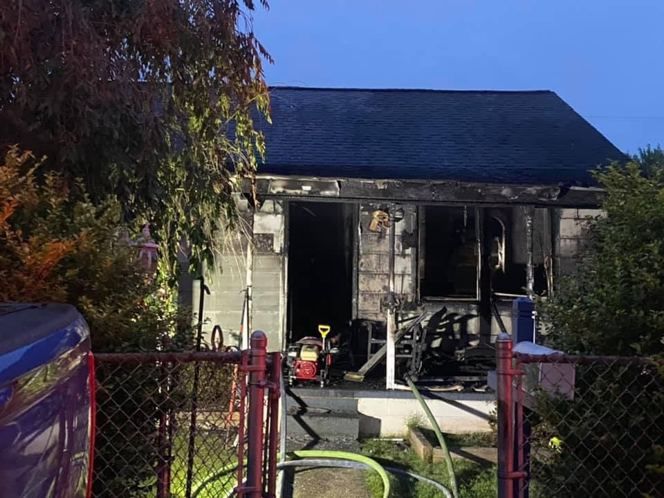 house fire in St. Albans